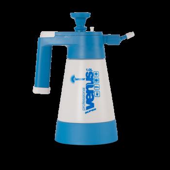 Накачной помповый пульверизатор Sprayer Venus Super PRO 1000мл синий KWAZAR