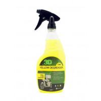 3D Yellow Degreaser Удалитель тормозной пыли и жирных пятен c покрышек 0,71 л 106OZ24