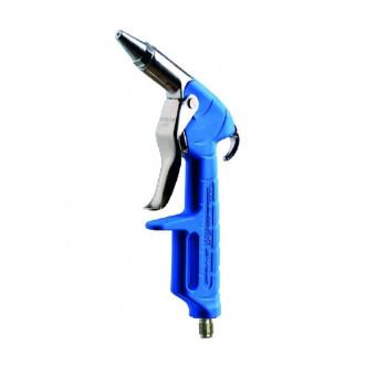 Обдувочный пистолет с короткий соплом синий