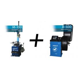 Шиномонтажный комплект М-100 + В-500 Ae&T