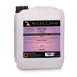 Бескислотный очиститель дисков с индикацией IronFree 5л ArcticLime