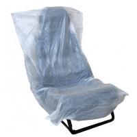 Накидки на сиденье белые К 01.10 790*1300 10 мк (100 шт) АвтоПак