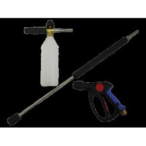 Пенокомплект в сборе (пенораспылитель, бачок, пистолет, копье)