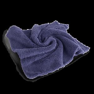 Микрофибровая салфетка двухсторонняя 40*40см пурпурная Autech