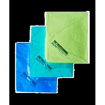Замша искусственная 430*325 2 шт зеленая Alon Prof