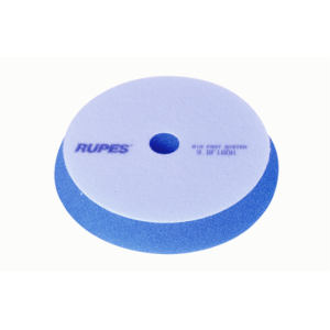 Жесткий поролоновый полировальный диск 130/150мм синий Rupes