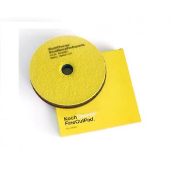 Полировальный полутвердый круг 150x23 мм желтый Fine Cut Pad Koch Chemie