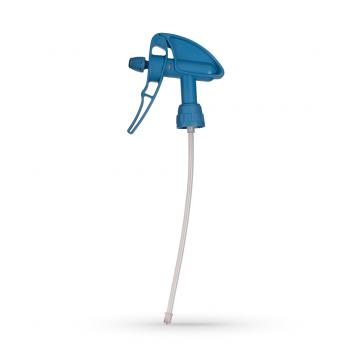 Распрыскиватель триггер - Super с рычагом Viton синего цвета