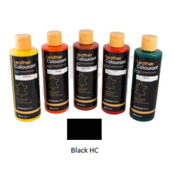 Краска для кожи цвет Black HC LeTech FurnitureClinic