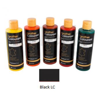 Краска для кожи цвет Black LC LeTech FurnitureClinic