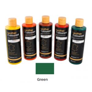 Краска для кожи LeatherColourant Green 250мл LeTech FirnitureClinic