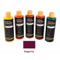 Краска для кожи LeatherColourant Magenta 250мл LeTech FirnitureClinic