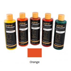 Краска для кожи LeatherColourant Orange 250мл LeTech FirnitureClinic