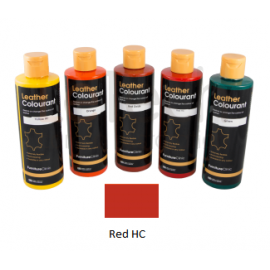 Краска для кожи LeatherColourant Red HC 250мл LeTech FirnitureClinic