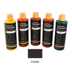 Краска для кожи LeatherColourant Violet 250мл LeTech FirnitureClinic