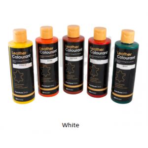 Краска для кожи LeatherColourant White 250мл LeTech FirnitureClinic
