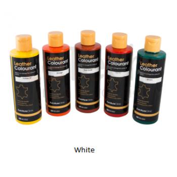 Краска для кожи цвет White LeTech FurnitureClinic