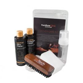 Набор для ухода за кожей Leather Care Kit Blister комплект LeTech