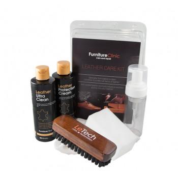 Набор для ухода за кожей Leather Care Kit Blister LeTech