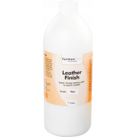 Защитный лак для кожи матовый Leather Finish Matt 1л LeTech