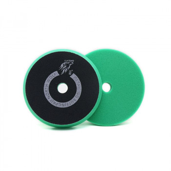Полировальный круг 125/150мм зеленый heavy cut North Wolf