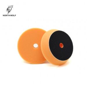 Полировальный круг 75 мм оранжевый DA buffing pad orange for polishing North Wolf