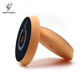 Полировальный круг антиголограммный 150/180 мм оранжевый polishing North Wolf