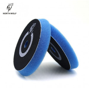 Полировальный круг резак 150/180 мм синий compounding North Wolf