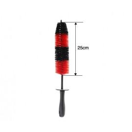 Щетка для чистки дисков и двигателя, узкая, 45 см Car wheel small brush ArcticLime
