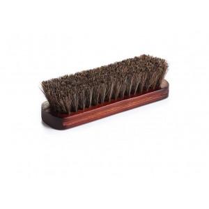 Щетка для очистки кожи 100% horse hair brush leather 15 см North Wolf