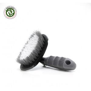Щетка для очистки резины колес с ручкой Tire brush North Wolf