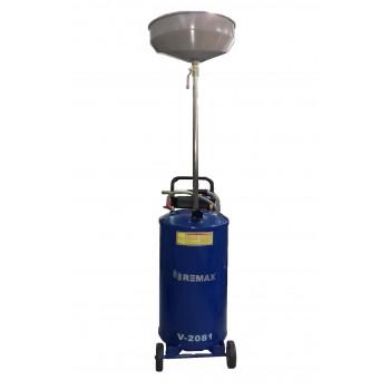 Установка маслосборная REMAX V-2081, бак 65л, воронка Remax