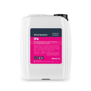 Антисиликон-обезжириватель на спиртовой основе 5л IPA Shine Systems
