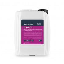 Бескислотный очиститель дисков с индикатором, 5 л IronOFF Shine Systems