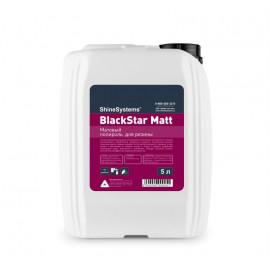 Чернитель резины матовый 5л BlackStar Matt Shine Systems
