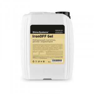 Нейтральный очиститель дисков с индикатором, 5 л IronOFF Gel Shine Systems