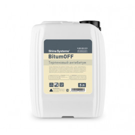 Терпеновый антибитум 5л BitumOff Shine Systems