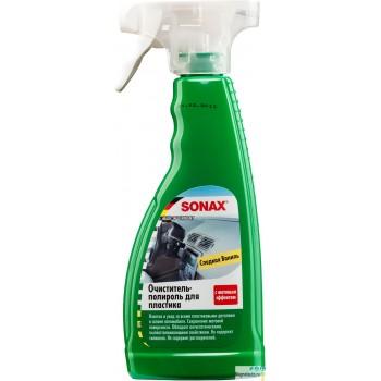 """Очиститель-полироль для пластика триггер """"Матовый эффект Ваниль"""" 0,5л Sonax"""