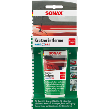 Удалитель царапин  для пластика 0,075л Sonax