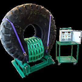 Вулканизатор для ремонта повреждений крупногабаритных шин с шириной профиля от 400 до 800 мм Комплекс 3 Термопресс