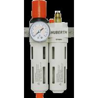 Фильтр-лубрикатор с воздушным редуктором 1050 л/мин Huberth