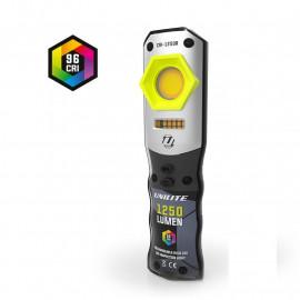 Инспекционный фонарь CRI-1250R CRI 96+, 1250 Lm, 3 цвета + УФ, 5000 mAh UNILITE