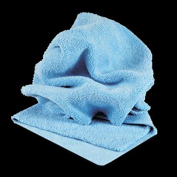 Микрофибра салфетка 40*40 см голубая 400гр