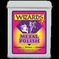 Металлическая чистящая вата для полировки и очистки металла Wizard