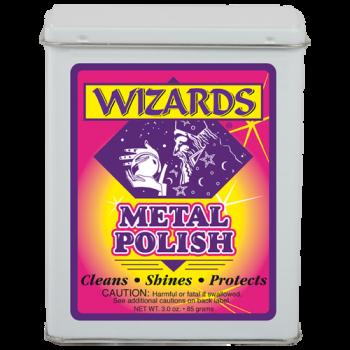 Металлическая чистящая вата для полировки и очитски металла Wizard
